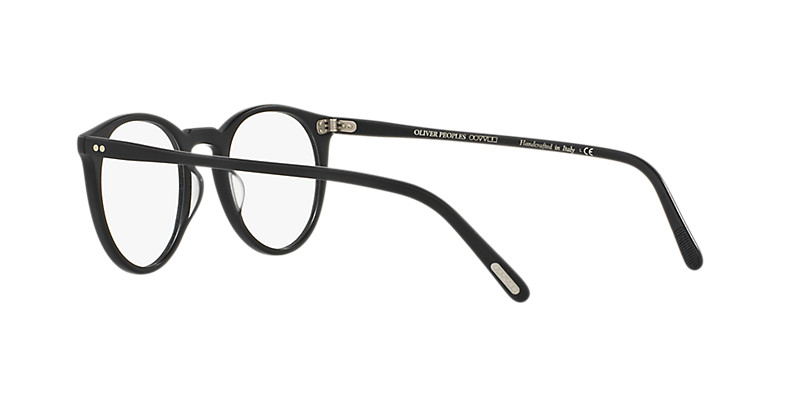 Oliver People's - Occhiale da Vista Unisex, O'Malley, Semi-Matte Black Pewter OV 5183 1005 L  C45