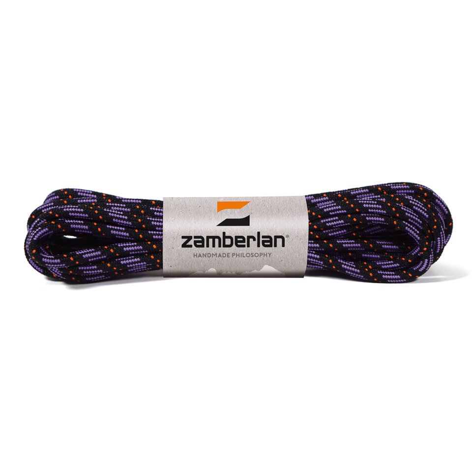 ZAMBERLAN® REPLACEMENT ROUND BOOT LACES    -   Lilac / Orange