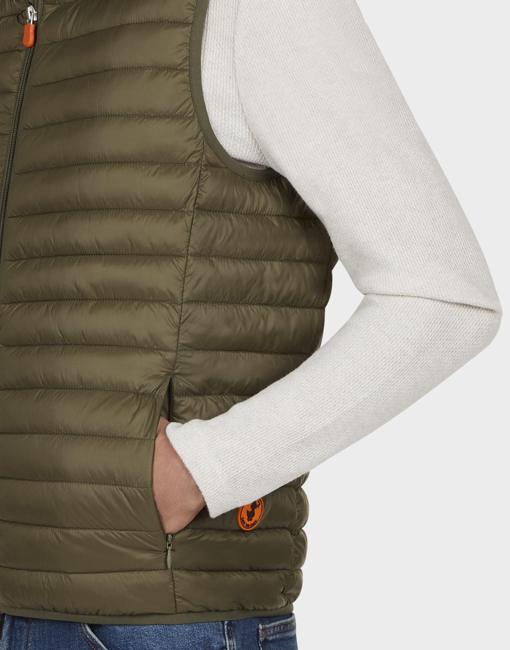 Gilet uomo SAVE THE DUCK GIGA8 dusty olive
