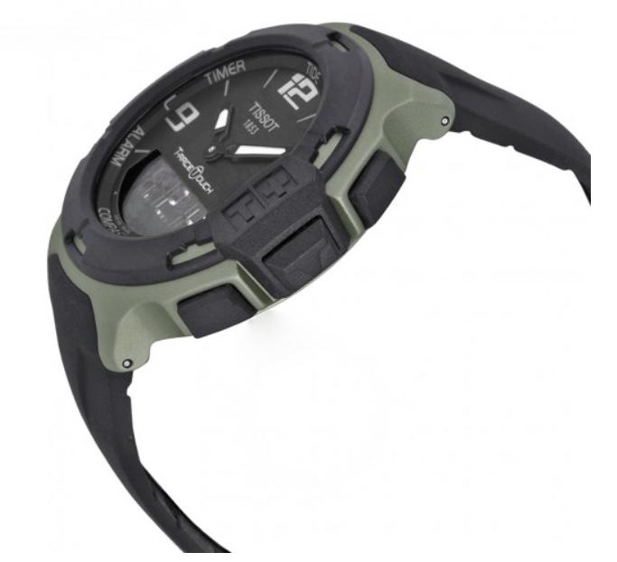 Orologio Tissot Uomo T-Race Touch, cassa Alluminio e cinturino in caucciù T081.420.97.057.01