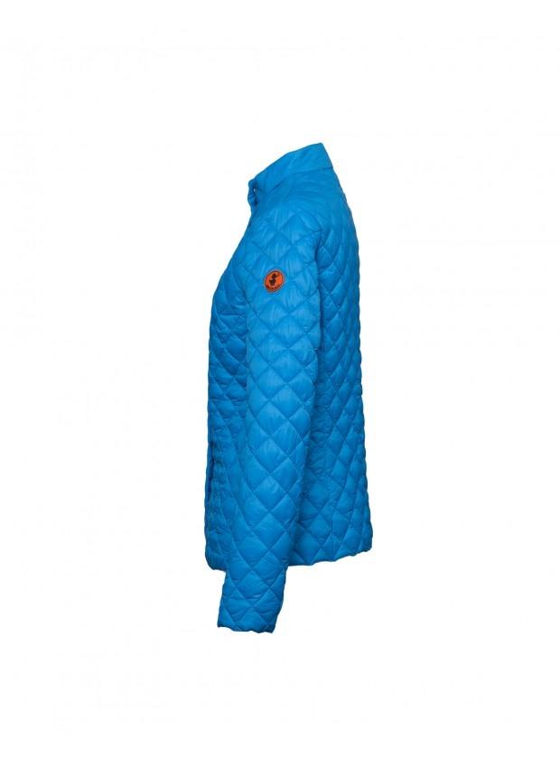 giacca donna SAVE THE DUCK GIGA azzurra