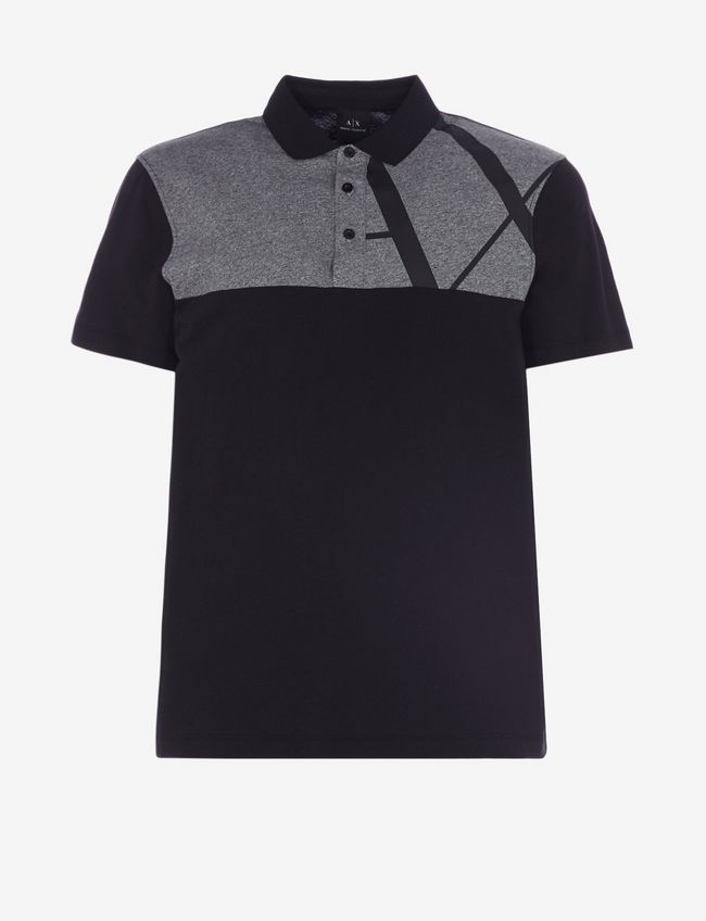 Polo uomo ARMANI EXCHANGE bicolore
