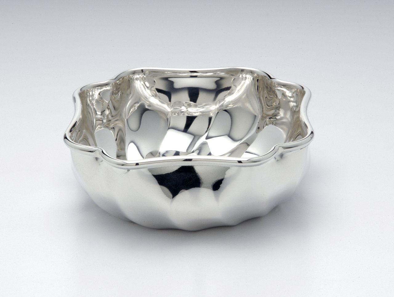 Ciotola torciglione placcata argento