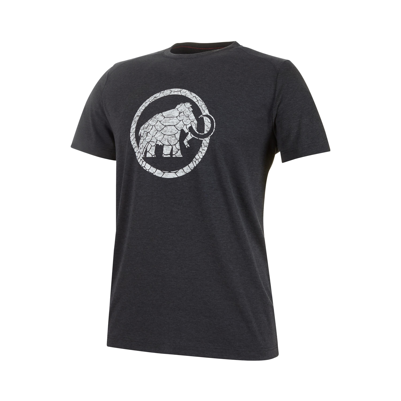 T-shirt uomo MAMMUT TROVAT T-SHIRT MEN black melange