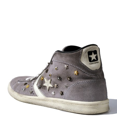 Scarpa donna CONVERSE PRO LEATHER MID SUEDE/CRYSTAL LTD