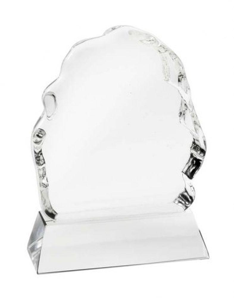 Trofeo iceberg vetro bianco