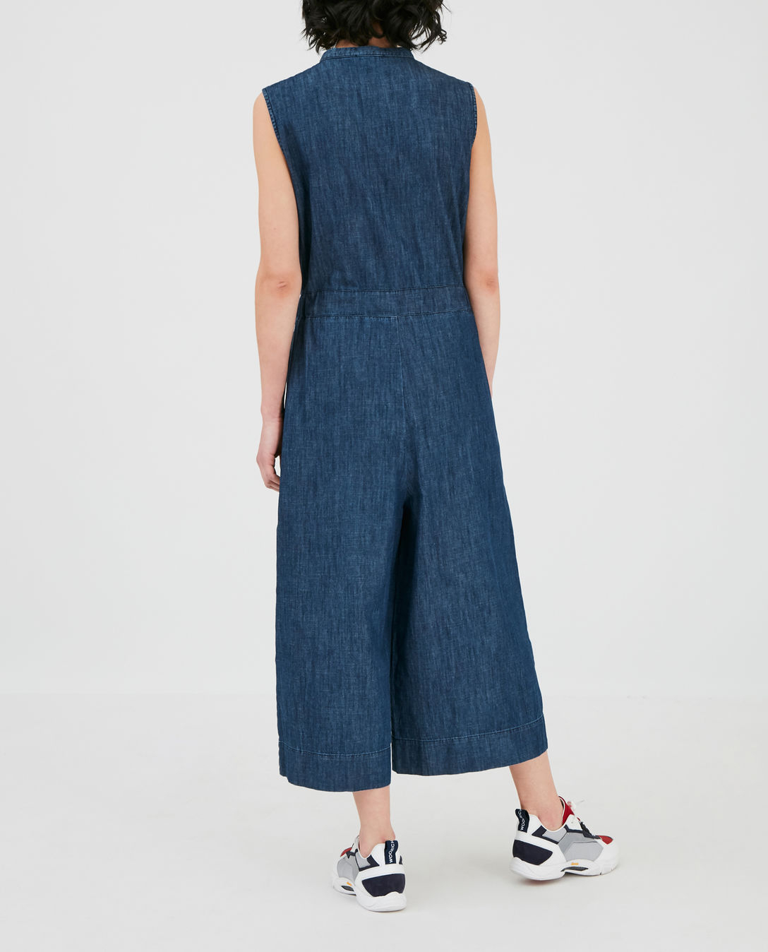 Abito donna WOOLRICH DENIM CHAMBRAY JUMPSUIT