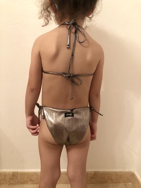 Bikini fascia e slip nodi Capital Effek
