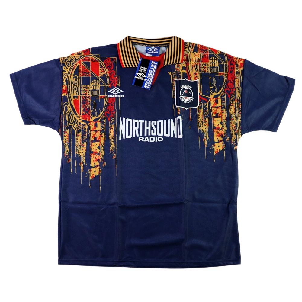 1994-96 Aberdeen Maglia Away XL *Cartellino