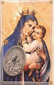 Confezione Medaglia Madonna del Carmelo