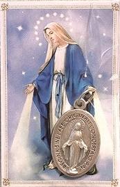 Confezione Medaglietta Madonna Immacolata