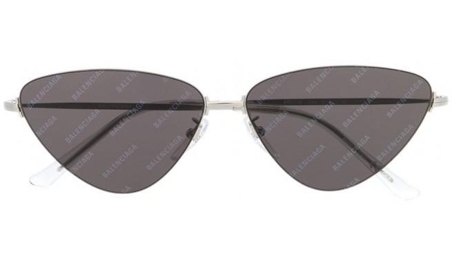 Balenciaga - Occhiale da Sole Unisex, Silver/Grey Shaded  BB0015S-004  C61