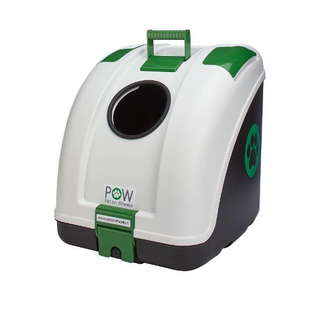 POW - Pet On Wheels. L'unico trasportino per moto, scooter, biciclette e auto