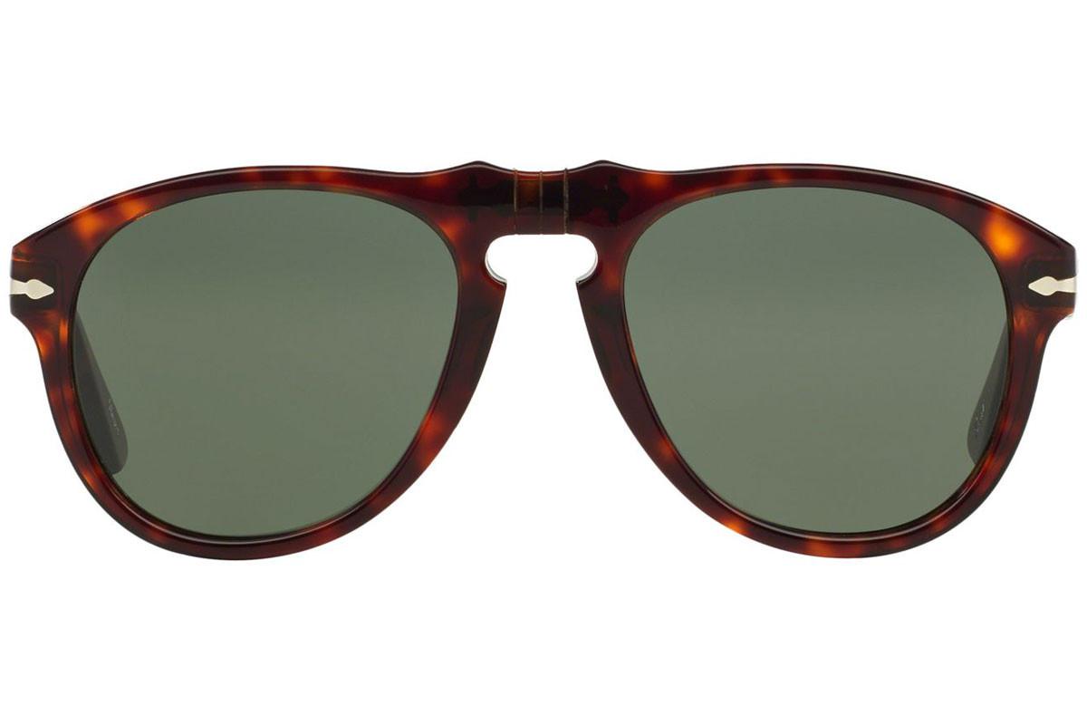 Persol - Occhiale da Sole Uomo, Havana/Green Shaded  PE0649   24/31  C56