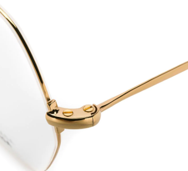 Balenciaga - Occhiale da Vista Unisex, Gold  BB0014O  003  C58