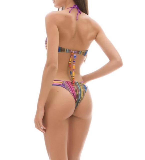 Bikini fascia e slip fianco Rainbow Changit Taglia  L