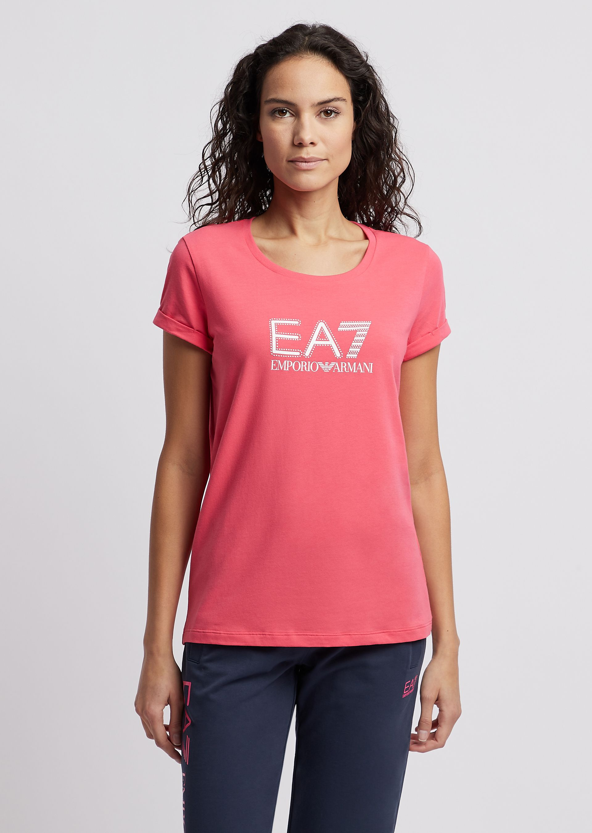 T-shirt donna EA7 IN JERSEY STRETCH