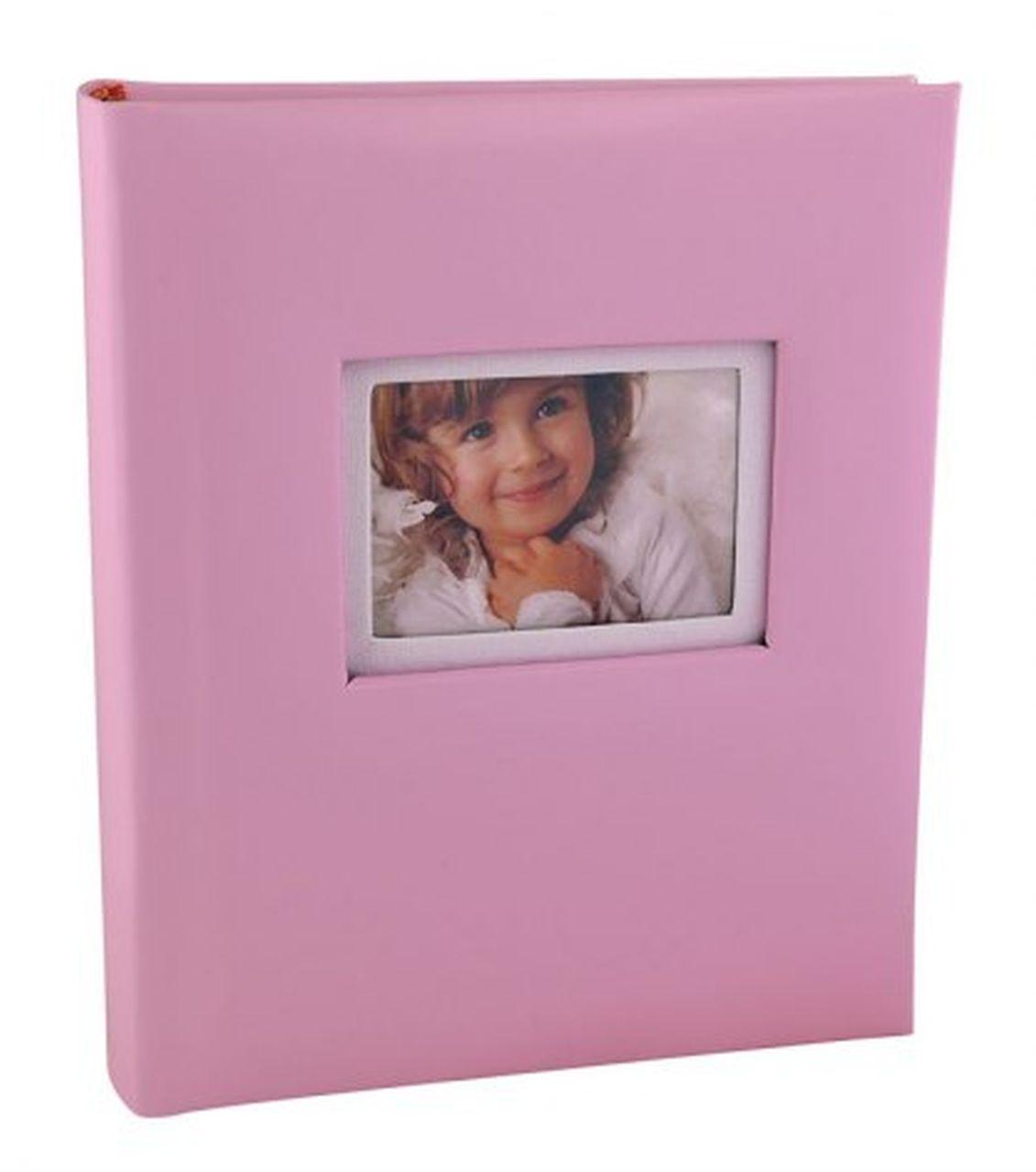 Album portafoto bimba rosa cm.17,5x21x3,5h