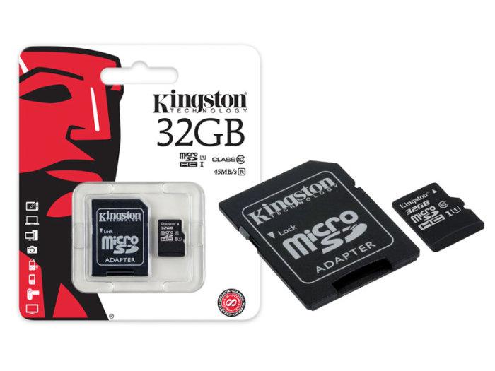 microsd 32 gb kingstone