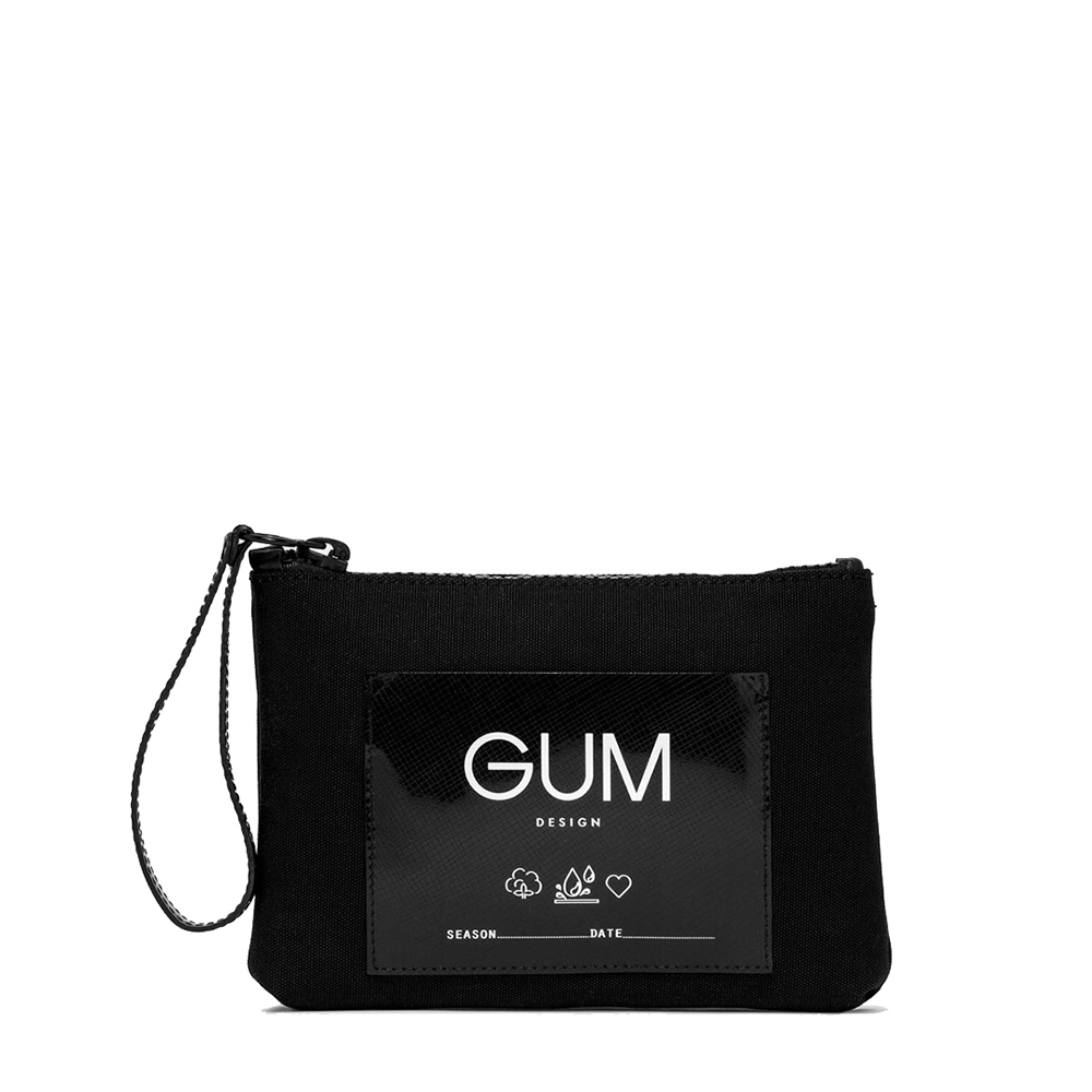 Pochette Canvas Small Nera - GUM Design
