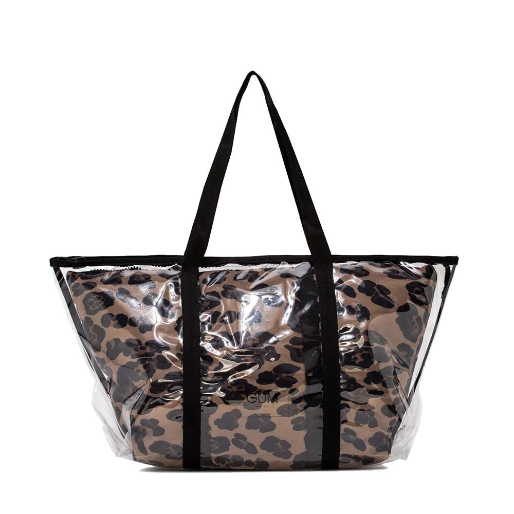 Shopper Fantasy grande leopard - GUM Design