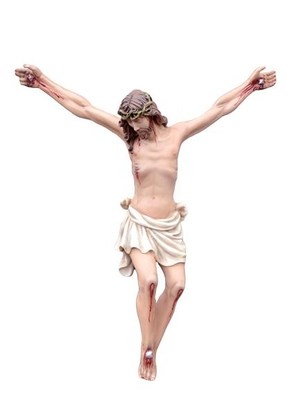 Corpo di Cristo in resina cm. 56
