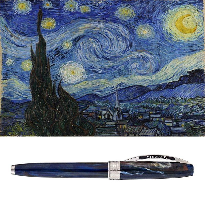Penna stilografica Van Gogh Starry Night di Visconti