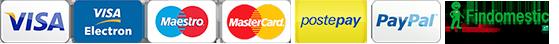 Acquisti elettronici sicuri con carte di credito e finanziamento