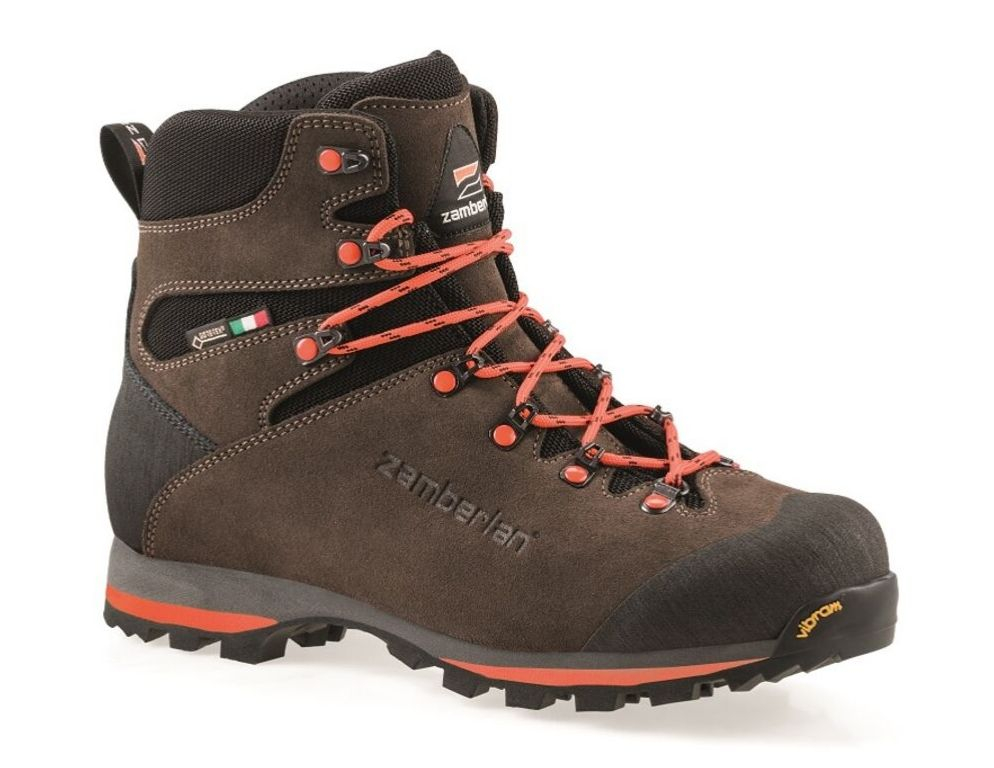 1103 STORM GTX   -    Bottes de Chasse -   Dark Brown/Orange