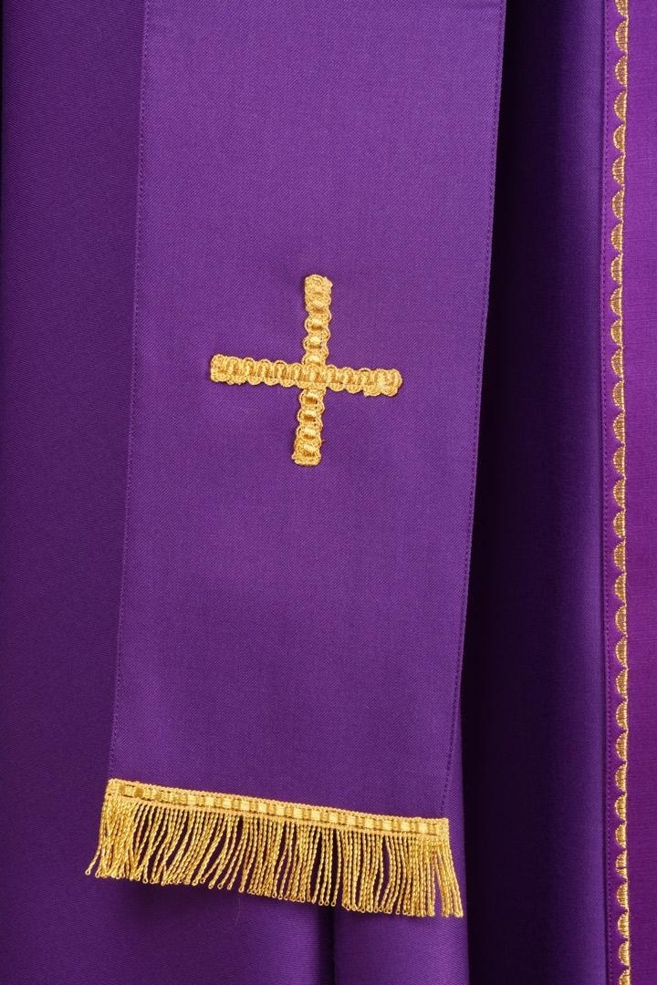 Casula C44 Viola Sallia di Pura Lana