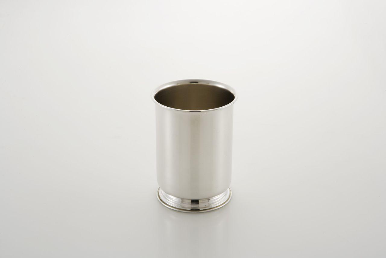 Portaposate in metallo placcato argento cm.14h diam.10,5