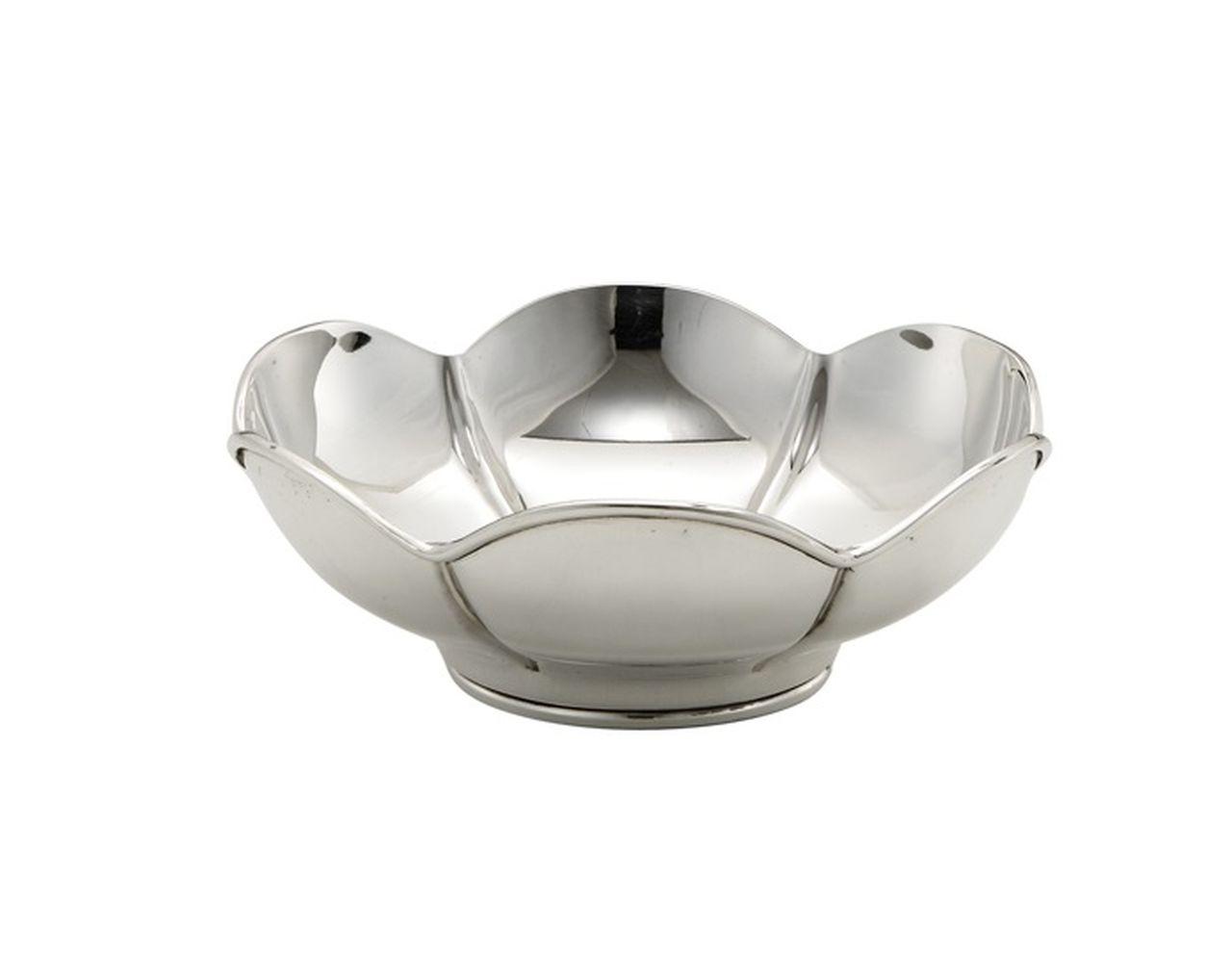 Ciotola argentata argento sheffield cm.8h diam.20