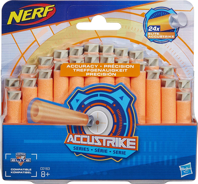 Hasbro Nerf- Ricarica da Dardi Accustrike- N-strike