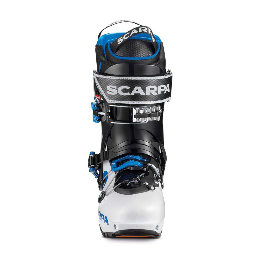 MAESTRALE RS   -   For experienced backcountry skiers   -   White-Black-Blue