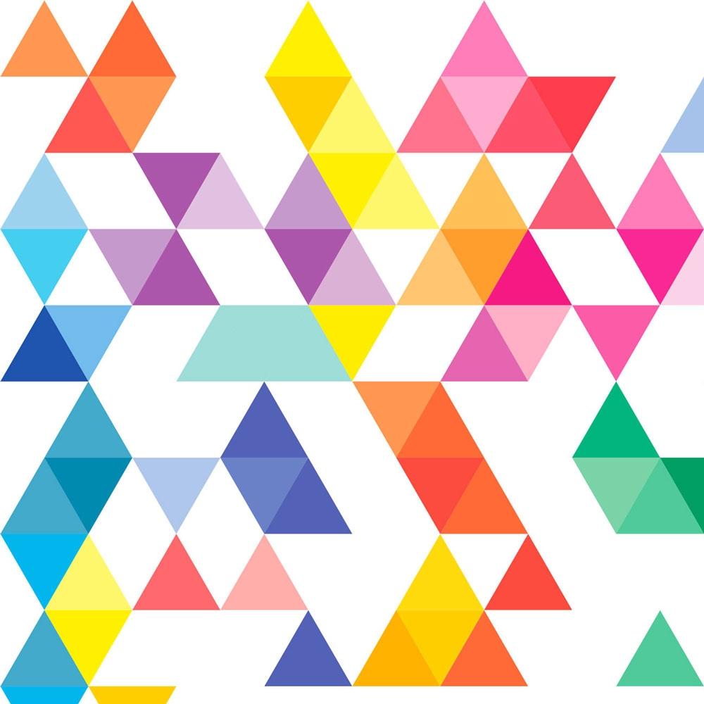 Carta da parati Triangle