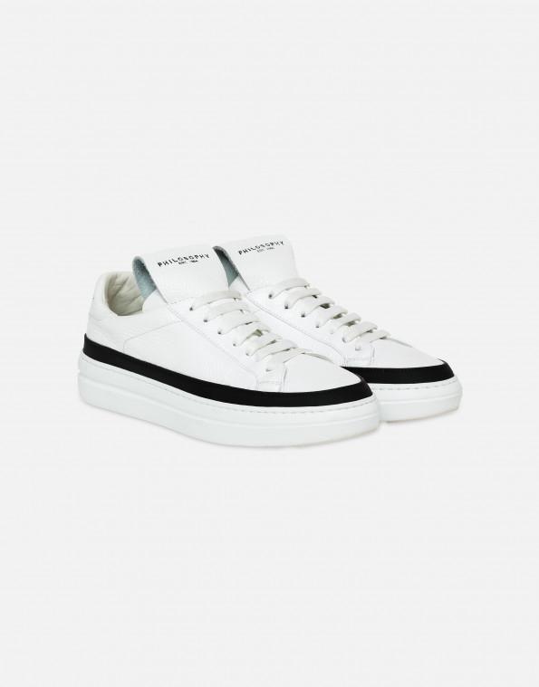 sneakers double sole con logo