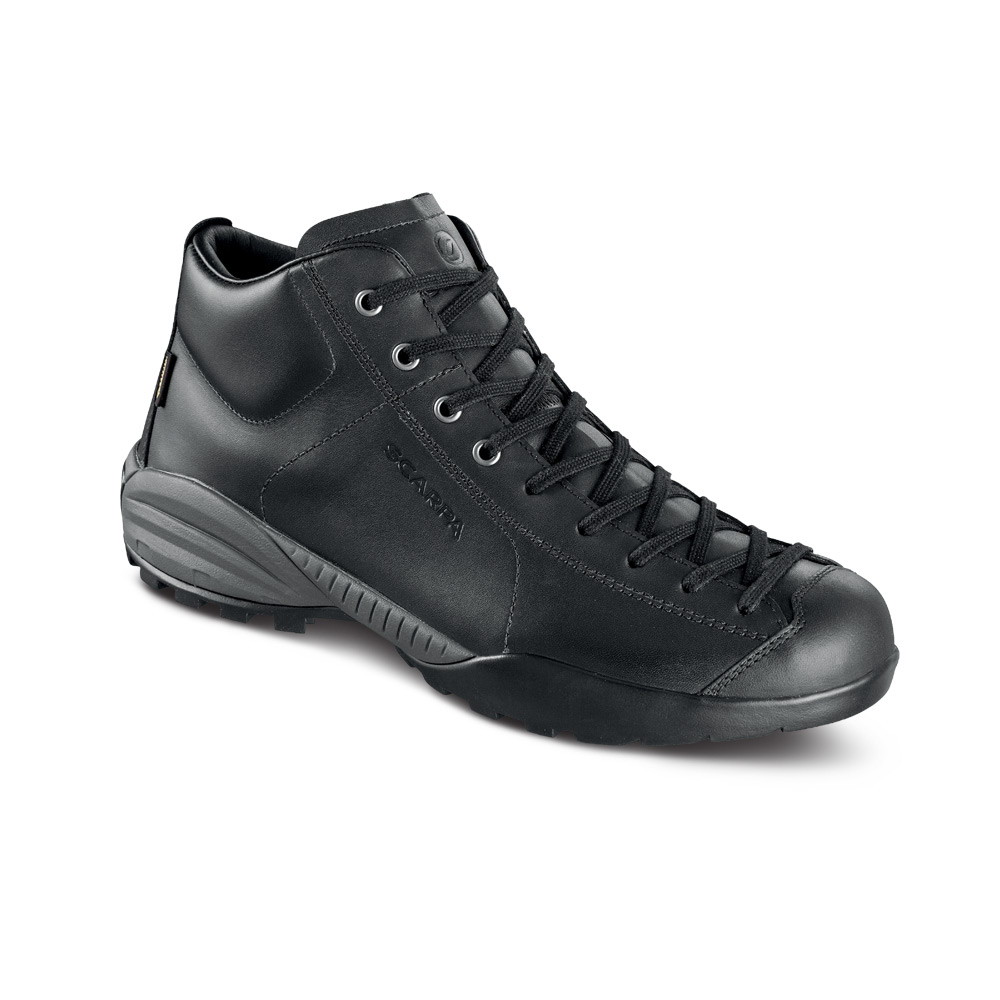 MOJITO URBAN MID GTX   -   Ideale nelle giornate piovose   -   Black (Leather)