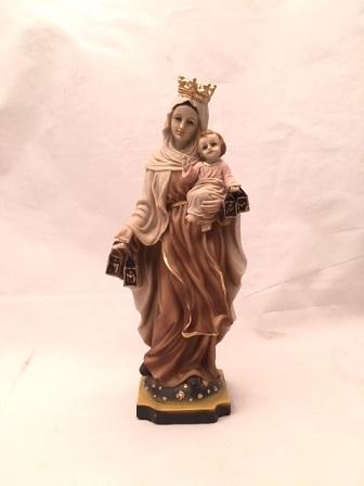 Madonna del Carmelo cm. 20