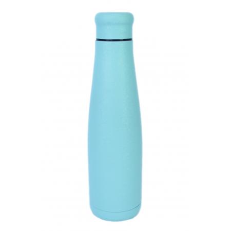 Bottiglia in Acciaio Colore Pastel Blue Ice