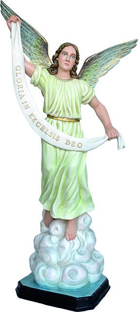 Angelo Gloria in piedi - presepio  cm. 100
