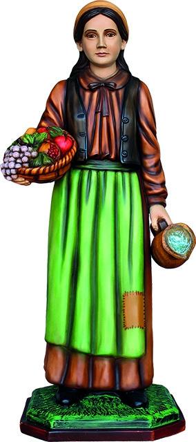Donna con cesto - presepio cm. 100