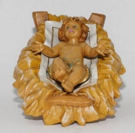 Gesù Bambino per presepio cm. 30