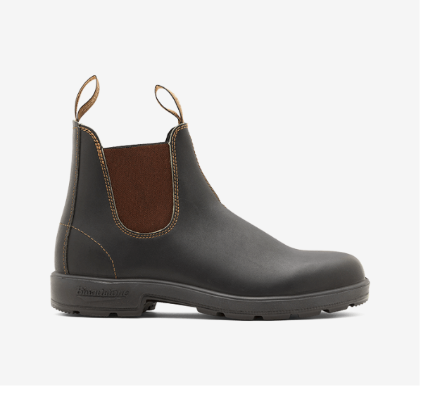 Boot uomo BLUNDSTONE STYLE 500 STOUT BROWN