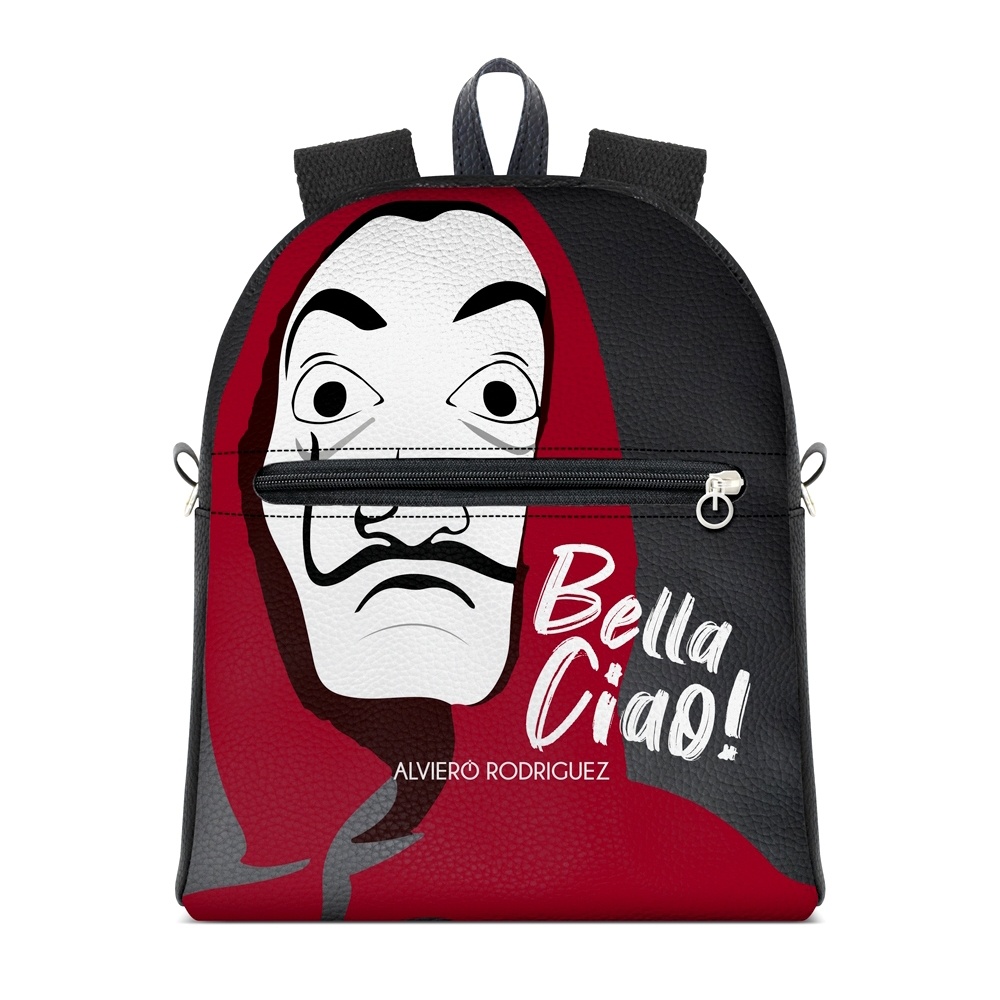 Backpack Alviero Rodriguez BELLA CIAO Backpack BLC Unico