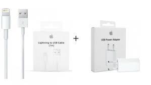 Offerta speciale spina apple orig.+cavo.orig.apple x iphone 5/6/7/8