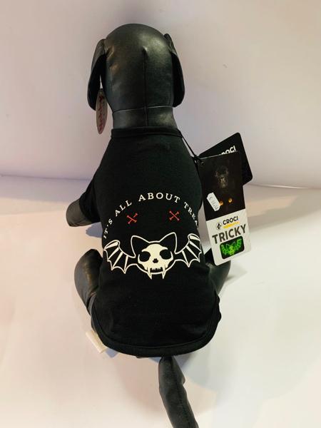 Croci T- Shirt Tricky Skull Bath Speciale  Halloween!