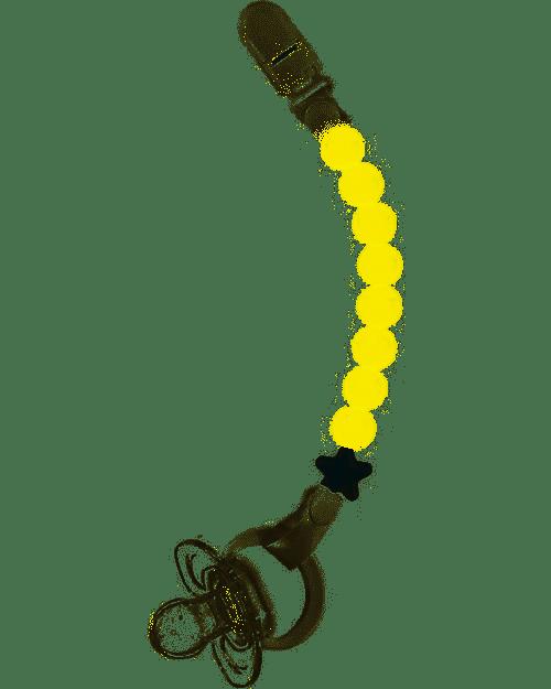 Catenella porta succhietto in silicone alimentare pluto Nibbling