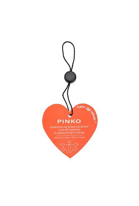 SHOPPING ON LINE PINKO BORSA MINI LOVE SIMPLY 4 CATENA VITELLO SETA FALL WINTER 19/20 NEW COLLECTION WOMEN'S