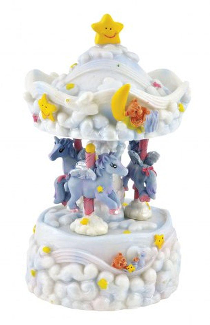 Giostra carillon unicorni