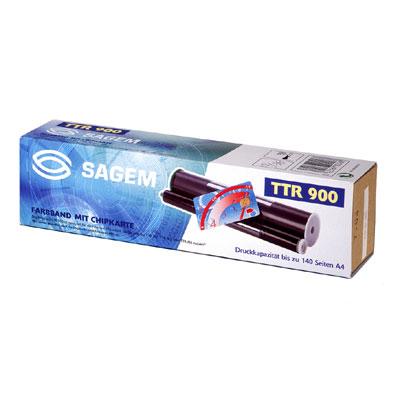 Sagem TTR900 Fax ribbon 140pagine Nero 2pezzo(i) ricambio per fax
